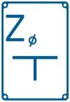 """TABLICZKA """"Z"""" WODA (ZASUWA)"""