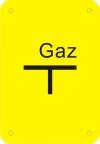 TABLICZKA GAZ (CZYSTA)